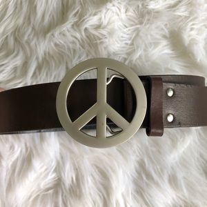 Accessories - Peace Leather Belt